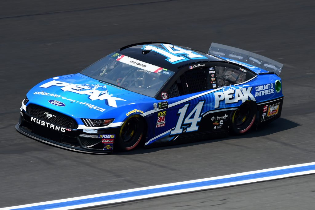 CHARLOTTE, NORTH CAROLINA - MAY 23: Clint Bowyer, driver of the #14 Peak Antifreeze & Coolant Ford, practices for the Monster Energy NASCAR Cup Series Coca-Cola 600 at Charlotte Motor Speedway on May 23, 2019 in Charlotte, North Carolina. (Photo by Jared C. Tilton/Getty Images) | Getty Images