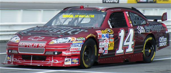2009 Sprint Cup Schemes - #14 Team - Jayski's NASCAR Silly Season Site