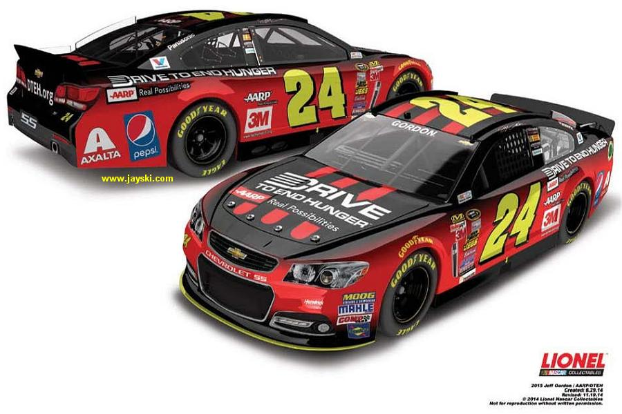 #24 Drive to End Hunger Diecast