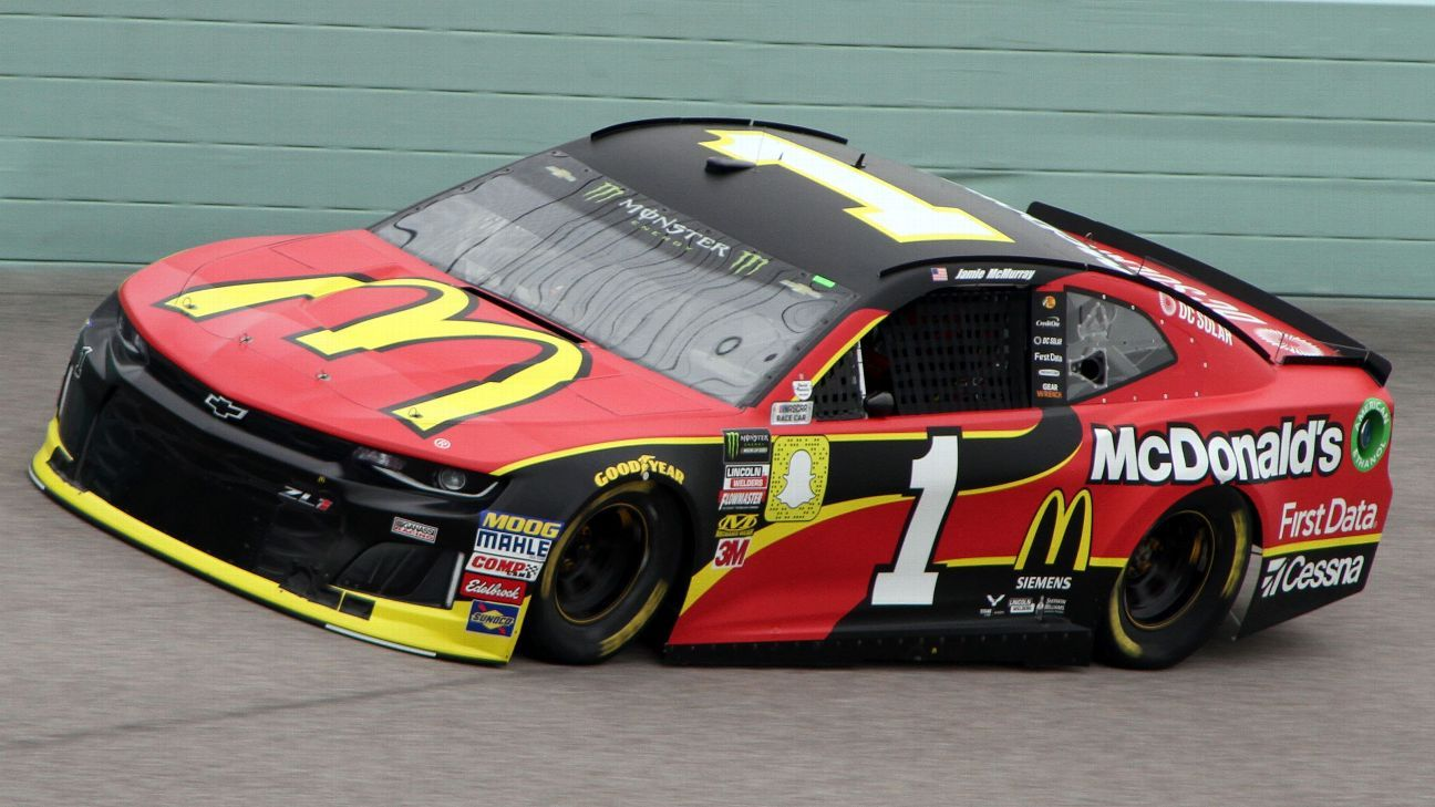 2018 1 Cup Paint Schemes Jayskis Nascar Silly Season Site