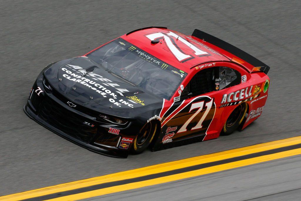 DAYTONA BEACH, FL - FEBRUARY 09: Ryan Truex, driver of the #71 Accell Construction Inc. Chevrolet, drives during practice for the Monster Energy NASCAR Cup Series 61st Annual Daytona 500 at Daytona International Speedway on February 9, 2019 in Daytona Beach, Florida. (Photo by Jonathan Ferrey/Getty Images) | Getty Images