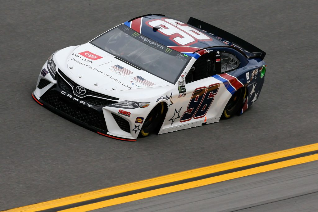 DAYTONA BEACH, FL - FEBRUARY 09: Parker Kligerman, driver of the #96 Gaunt Brothers Racing/Toyota Toyota, during practice for the Monster Energy NASCAR Cup Series 61st Annual Daytona 500 at Daytona International Speedway on February 9, 2019 in Daytona Beach, Florida. (Photo by Jonathan Ferrey/Getty Images) | Getty Images