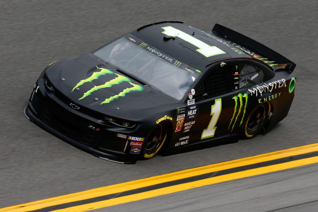DAYTONA BEACH, FL - FEBRUARY 09: Kurt Busch, driver of the #1 Monster Energy Chevrolet, during practice for the Monster Energy NASCAR Cup Series 61st Annual Daytona 500 at Daytona International Speedway on February 9, 2019 in Daytona Beach, Florida. (Photo by Jonathan Ferrey/Getty Images) | Getty Images