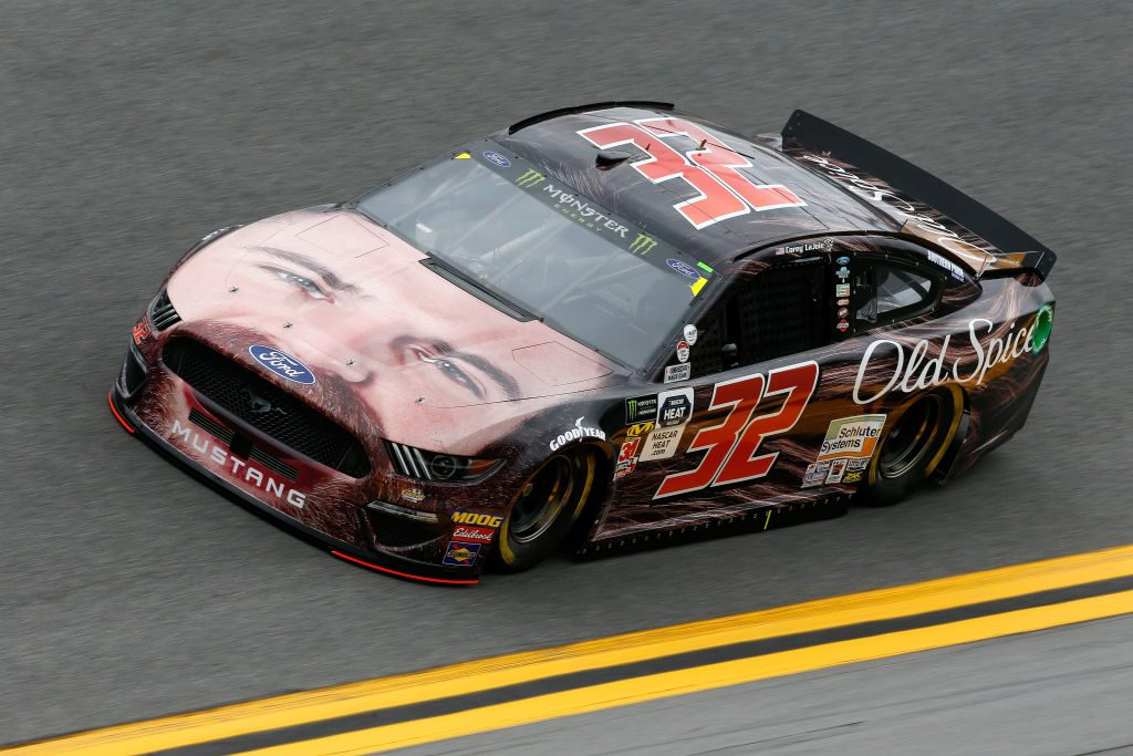 DAYTONA BEACH, FL - FEBRUARY 09: Corey LaJoie, driver of the #32 Old Spice Ford, during practice for the Monster Energy NASCAR Cup Series 61st Annual Daytona 500 at Daytona International Speedway on February 9, 2019 in Daytona Beach, Florida. (Photo by Jonathan Ferrey/Getty Images) | Getty Images