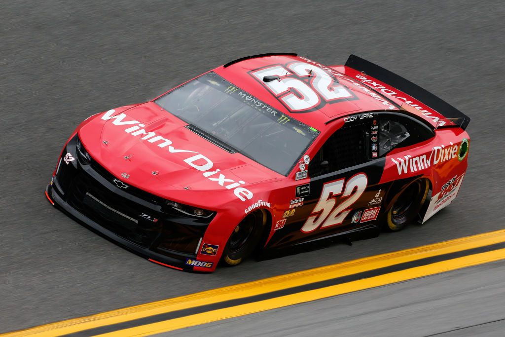DAYTONA BEACH, FL - FEBRUARY 09: Cody Ware, driver of the #52 Winn Dixie Chevrolet, during practice for the Monster Energy NASCAR Cup Series 61st Annual Daytona 500 at Daytona International Speedway on February 9, 2019 in Daytona Beach, Florida. (Photo by Jonathan Ferrey/Getty Images) | Getty Images