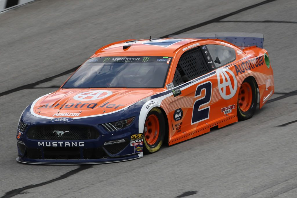 HAMPTON, GA - FEBRUARY 22: Brad Keselowski, driver of the #2 Autotrader Ford, drives during practice for the Monster Energy NASCAR Cup Series Folds of Honor Quiktrip 500 at Atlanta Motor Speedway on February 22, 2019 in Hampton, Georgia. (Photo by Chris Graythen/Getty Images) | Getty Images