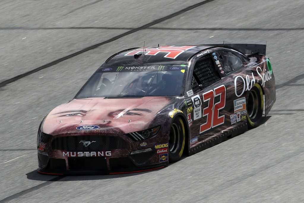 HAMPTON, GA - FEBRUARY 22: Corey LaJoie, driver of the #32 Old Spice Ford, drives during practice for the Monster Energy NASCAR Cup Series Folds of Honor Quiktrip 500 at Atlanta Motor Speedway on February 22, 2019 in Hampton, Georgia. (Photo by Chris Graythen/Getty Images) | Getty Images