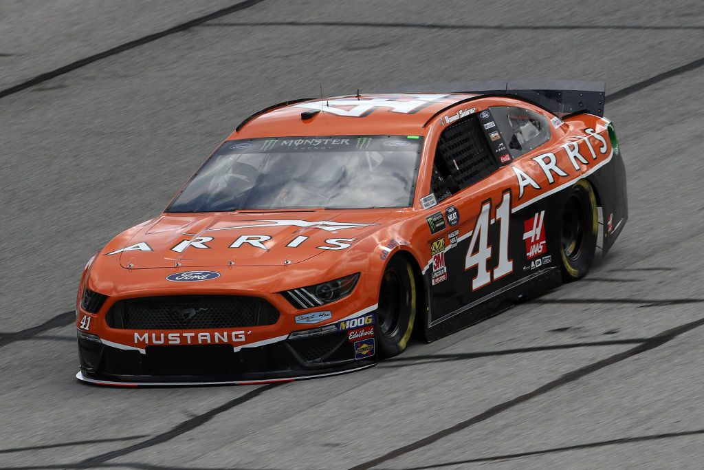HAMPTON, GA - FEBRUARY 22: Daniel Suarez, driver of the #41 ARRIS Ford, drives during practice for the Monster Energy NASCAR Cup Series Folds of Honor Quiktrip 500 at Atlanta Motor Speedway on February 22, 2019 in Hampton, Georgia. (Photo by Chris Graythen/Getty Images) | Getty Images
