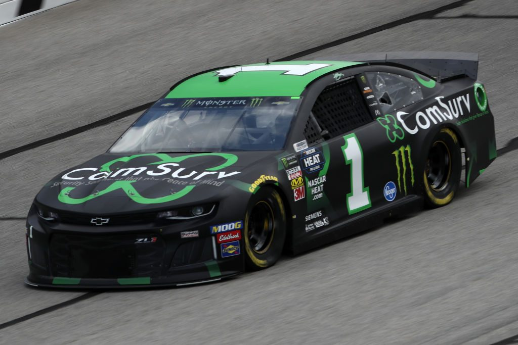 HAMPTON, GA - FEBRUARY 22: Kurt Busch, driver of the #1 ComSurv Chevrolet, drives during practice for the Monster Energy NASCAR Cup Series Folds of Honor Quiktrip 500 at Atlanta Motor Speedway on February 22, 2019 in Hampton, Georgia. (Photo by Chris Graythen/Getty Images) | Getty Images