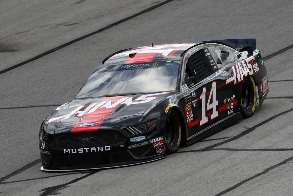 HAMPTON, GA - FEBRUARY 22: Clint Bowyer, driver of the #14 Haas Automation Ford, drives during practice for the Monster Energy NASCAR Cup Series Folds of Honor Quiktrip 500 at Atlanta Motor Speedway on February 22, 2019 in Hampton, Georgia. (Photo by Chris Graythen/Getty Images) | Getty Images