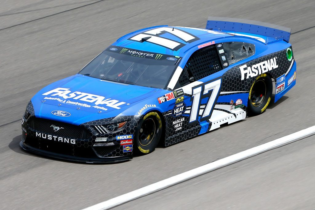 LAS VEGAS, NV - MARCH 01: Ricky Stenhouse Jr., driver of the #17 Fastenal Ford, during practice for the Monster Energy NASCAR Cup Series Pennzoil 400 at Las Vegas Motor Speedway on March 1, 2019 in Las Vegas, Nevada. (Photo by Jonathan Ferrey/Getty Images) | Getty Images