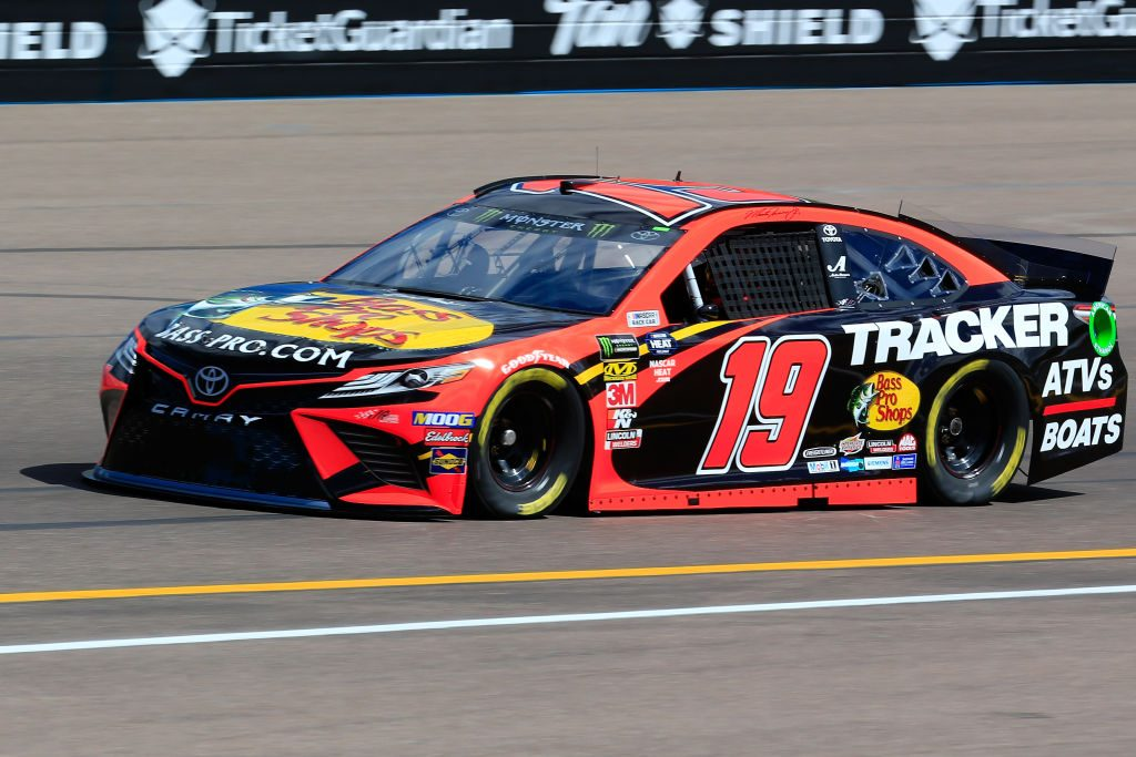 AVONDALE, AZ - MARCH 08: Martin Truex Jr., driver of the #19 Bass Pro Shops Toyota, practices for the Monster Energy NASCAR Cup Series TicketGuardian 500 at ISM Raceway on March 8, 2019 in Avondale, Arizona. (Photo by Daniel Shirey/Getty Images) | Getty Images