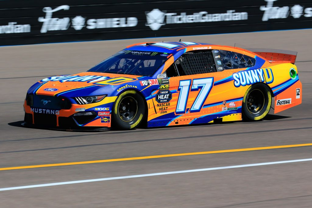 AVONDALE, AZ - MARCH 08: Ricky Stenhouse Jr., driver of the #17 Sunny D Ford, practices for the Monster Energy NASCAR Cup Series TicketGuardian 500 at ISM Raceway on March 8, 2019 in Avondale, Arizona. (Photo by Daniel Shirey/Getty Images) | Getty Images