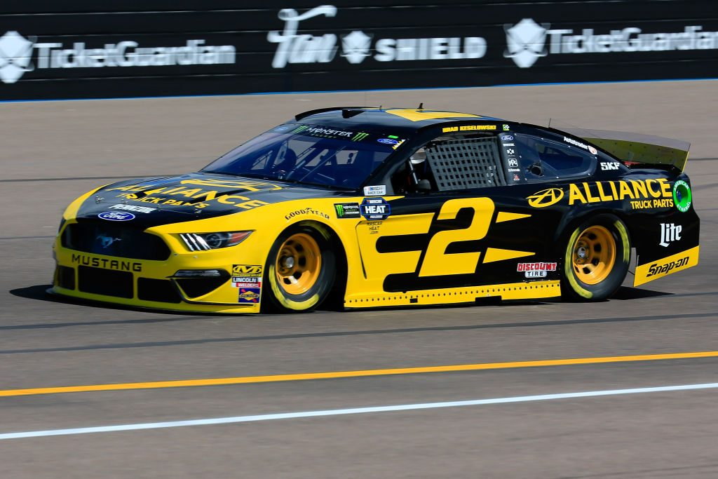 AVONDALE, AZ - MARCH 08: Brad Keselowski, driver of the #2 Alliance Truck Parts Ford, practices for the Monster Energy NASCAR Cup Series TicketGuardian 500 at ISM Raceway on March 8, 2019 in Avondale, Arizona. (Photo by Daniel Shirey/Getty Images) | Getty Images