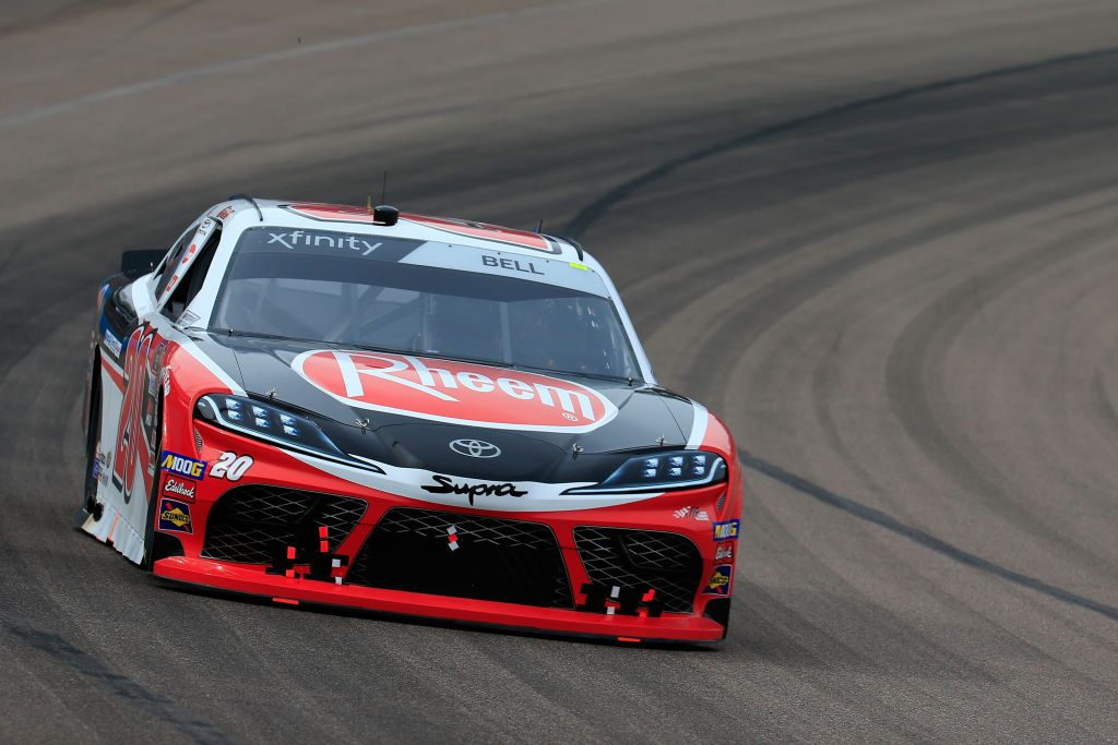 AVONDALE, AZ - MARCH 09: Christopher Bell, driver of the #20 Rheem Toyota, races during the NASCAR Xfinity Series iK9 Service Dog 200 at ISM Raceway on March 9, 2019 in Avondale, Arizona. (Photo by Daniel Shirey/Getty Images) | Getty Images