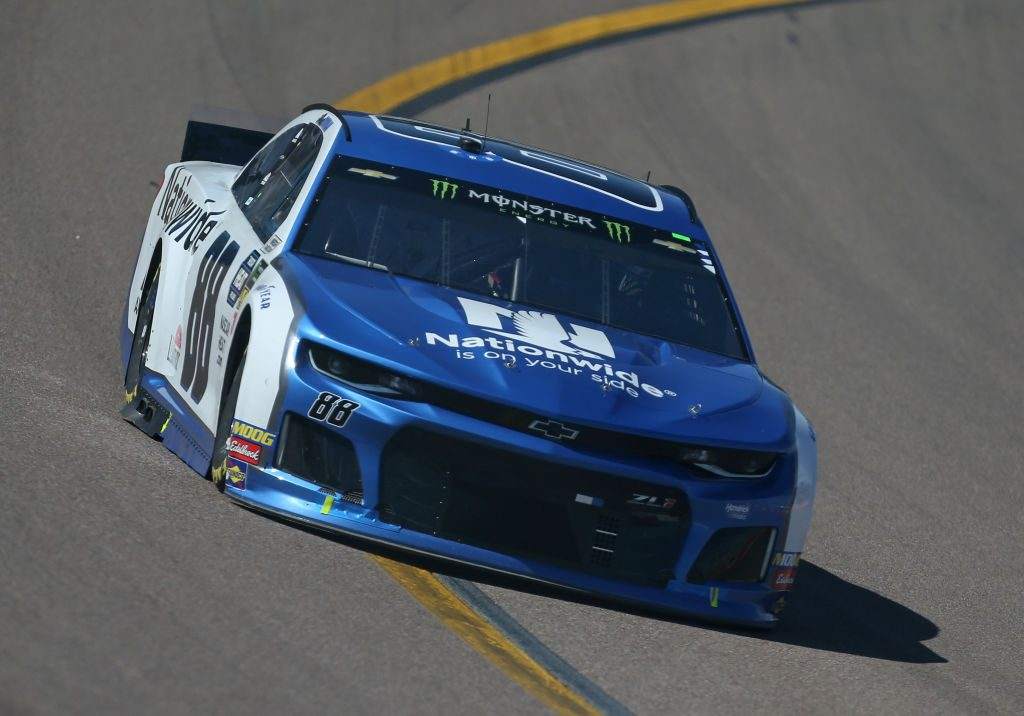 AVONDALE, AZ - MARCH 10: Alex Bowman, driver of the #88 Nationwide Chevrolet, races during the Monster Energy NASCAR Cup Series TicketGuardian 500 at ISM Raceway on March 10, 2019 in Avondale, Arizona. (Photo by Matt Sullivan/Getty Images) | Getty Images