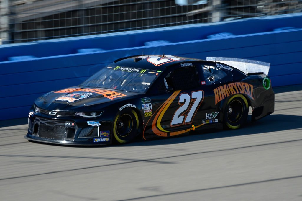 FONTANA, CA - MARCH 15: Reed Sorenson, driver of the #27 RimRyders Chevrolet, practices for the Monster Energy NASCAR Cup Series Auto Club 400 at Auto Club Speedway on March 15, 2019 in Fontana, California. (Photo by Robert Laberge/Getty Images) | Getty Images