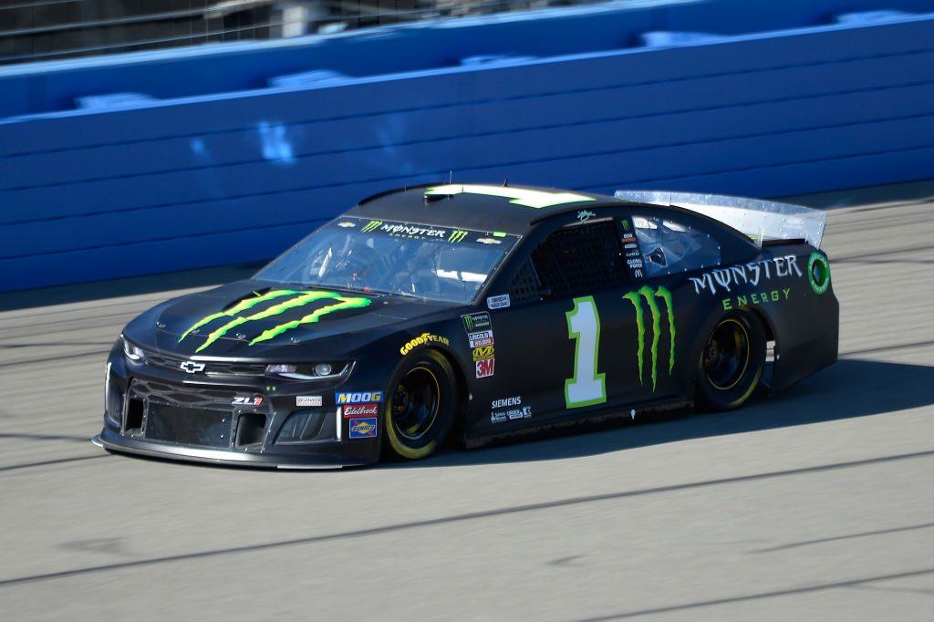 FONTANA, CA - MARCH 15: Kurt Busch, driver of the #1 Monster Energy Chevrolet, practices for the Monster Energy NASCAR Cup Series Auto Club 400 at Auto Club Speedway on March 15, 2019 in Fontana, California. (Photo by Robert Laberge/Getty Images) | Getty Images