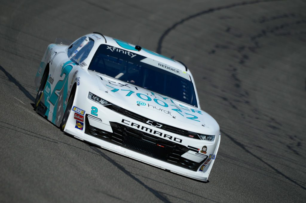 FONTANA, CA - MARCH 15: Tyler Reddick, driver of the #2 Hurdl Chevrolet, during practice for the NASCAR Xfinity Series Production Alliance Group 300 at Auto Club Speedway on March 15, 2019 in Fontana, California. (Photo by Robert Laberge/Getty Images) | Getty Images
