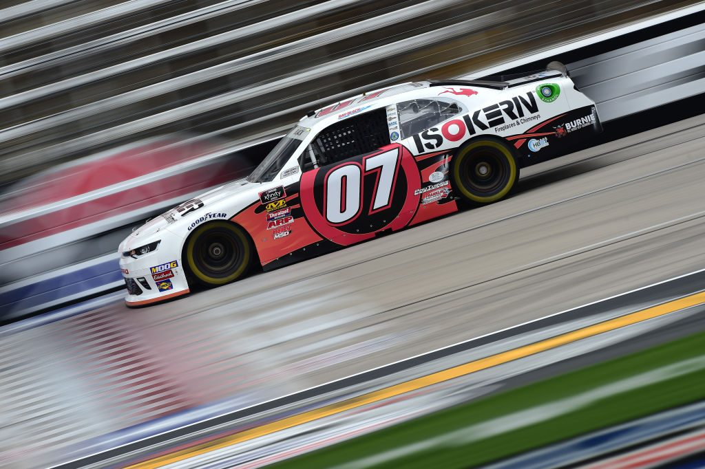 FORT WORTH, TX - MARCH 29:  Ray Black II, driver of the #07 ISOKERN Fireplaces & Chimneys Scuba Life, drives during practice for the NASCAR Xfinity Series My Bariatric Solutions 300 at Texas Motor Speedway on March 29, 2019 in Fort Worth, Texas.  (Photo by Jared C. Tilton/Getty Images) | Getty Images