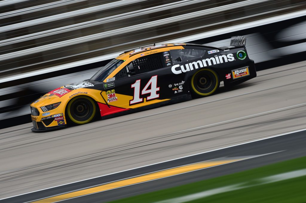 FORT WORTH, TX - MARCH 29: Clint Bowyer, driver of the #14 Rush Truck Centers/Cummins Ford, drives during practice for the Monster Energy NASCAR Cup Series O'Reilly Auto Parts 500 at Texas Motor Speedway on March 29, 2019 in Fort Worth, Texas. (Photo by Jared C. Tilton/Getty Images) | Getty Images