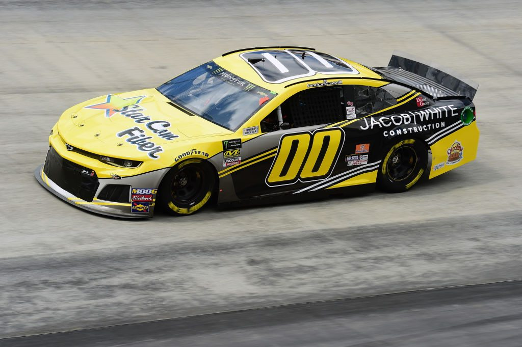 BRISTOL, TN - APRIL 05: Landon Cassill, driver of the #00 StarCom Fiber Chevrolet, practices for the Monster Energy NASCAR Cup Series Food City 500 at Bristol Motor Speedway on April 5, 2019 in Bristol, Tennessee. (Photo by Jared C. Tilton/Getty Images) | Getty Images