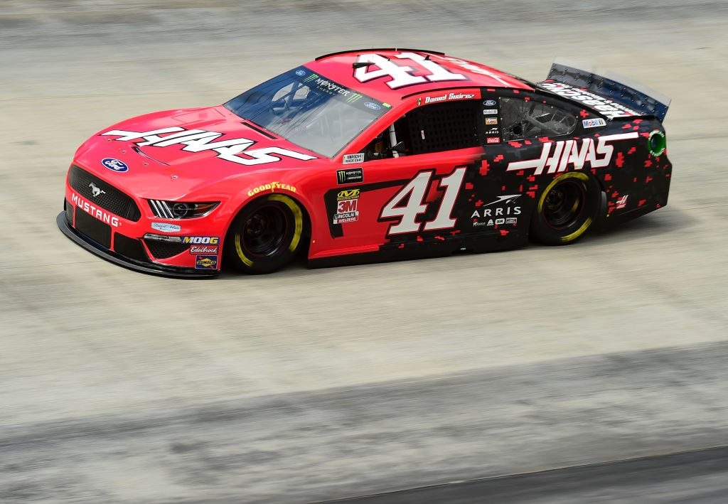 BRISTOL, TN - APRIL 05: Daniel Suarez, driver of the #41 Haas Automation Ford, practices for the Monster Energy NASCAR Cup Series Food City 500 at Bristol Motor Speedway on April 5, 2019 in Bristol, Tennessee. (Photo by Jared C. Tilton/Getty Images) | Getty Images