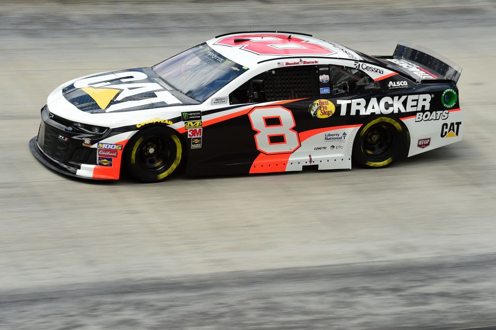 BRISTOL, TN - APRIL 05: Daniel Hemric, driver of the #8 Caterpillar/Bass Pro Shops Chevrolet, practices for the Monster Energy NASCAR Cup Series Food City 500 at Bristol Motor Speedway on April 5, 2019 in Bristol, Tennessee. (Photo by Jared C. Tilton/Getty Images) | Getty Images