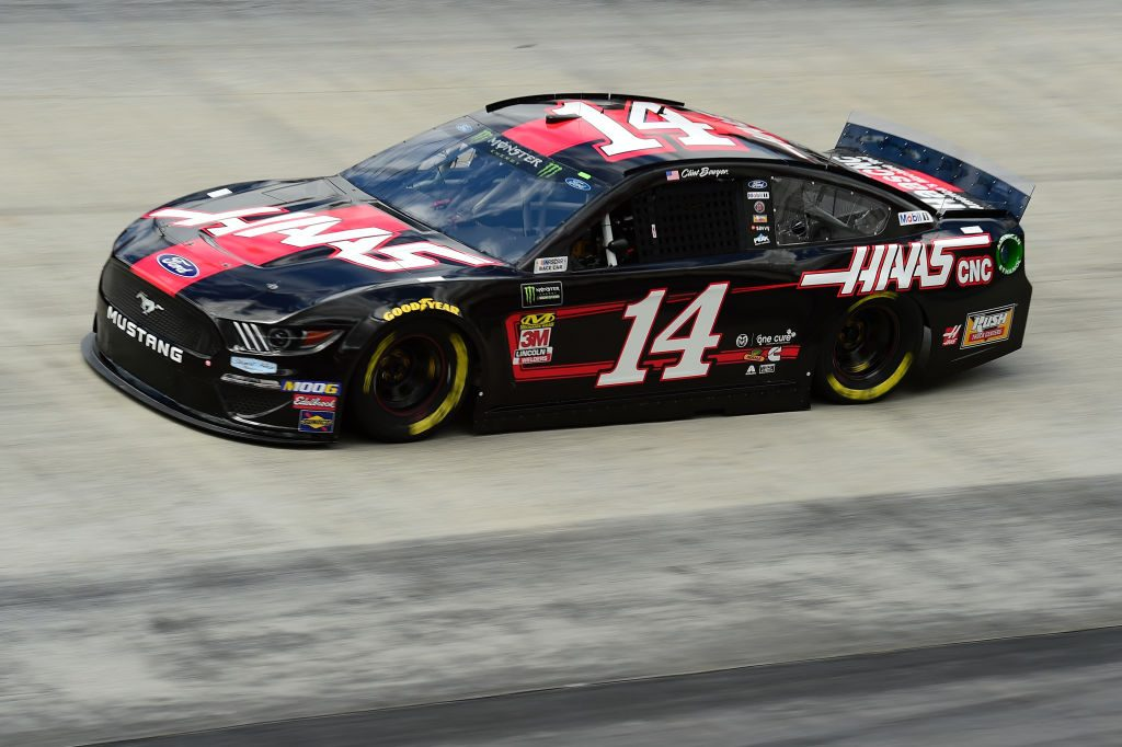 BRISTOL, TN - APRIL 05: Clint Bowyer, driver of the #14 Haas Automation Ford, practices for the Monster Energy NASCAR Cup Series Food City 500 at Bristol Motor Speedway on April 5, 2019 in Bristol, Tennessee. (Photo by Jared C. Tilton/Getty Images) | Getty Images