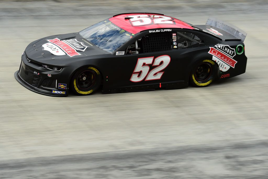BRISTOL, TN - APRIL 05: Bayley Currey, driver of the #52 Belmont Classic Cars Chevrolet, practices for the Monster Energy NASCAR Cup Series Food City 500 at Bristol Motor Speedway on April 5, 2019 in Bristol, Tennessee. (Photo by Jared C. Tilton/Getty Images) | Getty Images