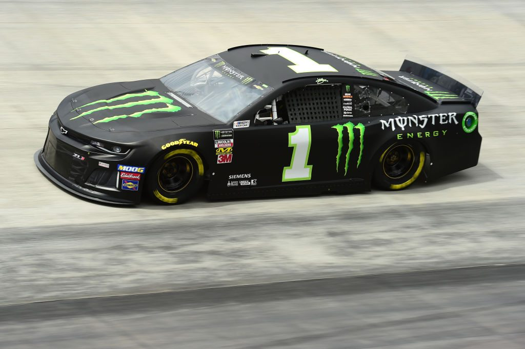 BRISTOL, TN - APRIL 05: Kurt Busch, driver of the #1 Monster Energy Chevrolet, practices for the Monster Energy NASCAR Cup Series Food City 500 at Bristol Motor Speedway on April 5, 2019 in Bristol, Tennessee. (Photo by Jared C. Tilton/Getty Images) | Getty Images
