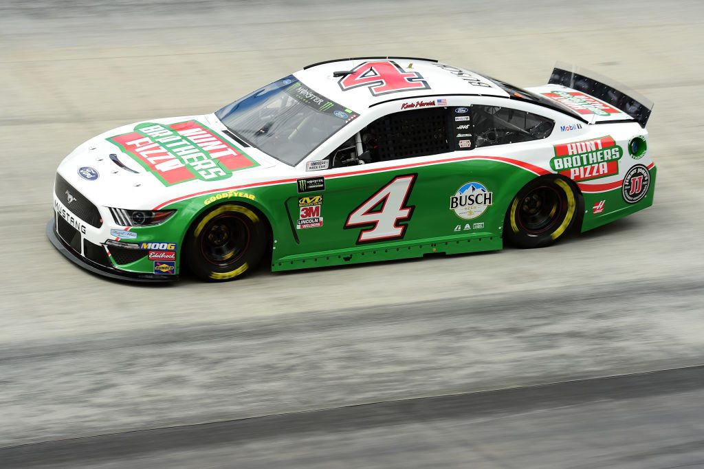 BRISTOL, TN - APRIL 05: Kevin Harvick, driver of the #4 Hunt Brothers Pizza Ford, practices for the Monster Energy NASCAR Cup Series Food City 500 at Bristol Motor Speedway on April 5, 2019 in Bristol, Tennessee. (Photo by Jared C. Tilton/Getty Images) | Getty Images