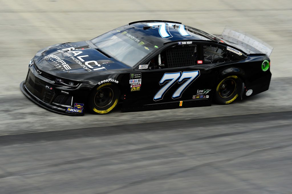 BRISTOL, TN - APRIL 05: Quin Houff, driver of the #77 FALCI Adaptve Motorsports Chevrolet, practices for the Monster Energy NASCAR Cup Series Food City 500 at Bristol Motor Speedway on April 5, 2019 in Bristol, Tennessee. (Photo by Jared C. Tilton/Getty Images) | Getty Images