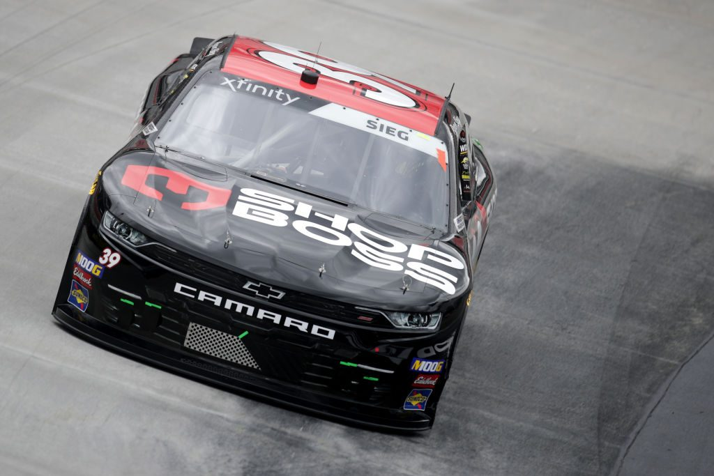 BRISTOL, TN - APRIL 05: Ryan Sieg, driver of the #39 Shop Boss Chevrolet, practices for the NASCAR Xfinity Series Alsco 300 at Bristol Motor Speedway on April 5, 2019 in Bristol, Tennessee. (Photo by Donald Page/Getty Images) | Getty Images