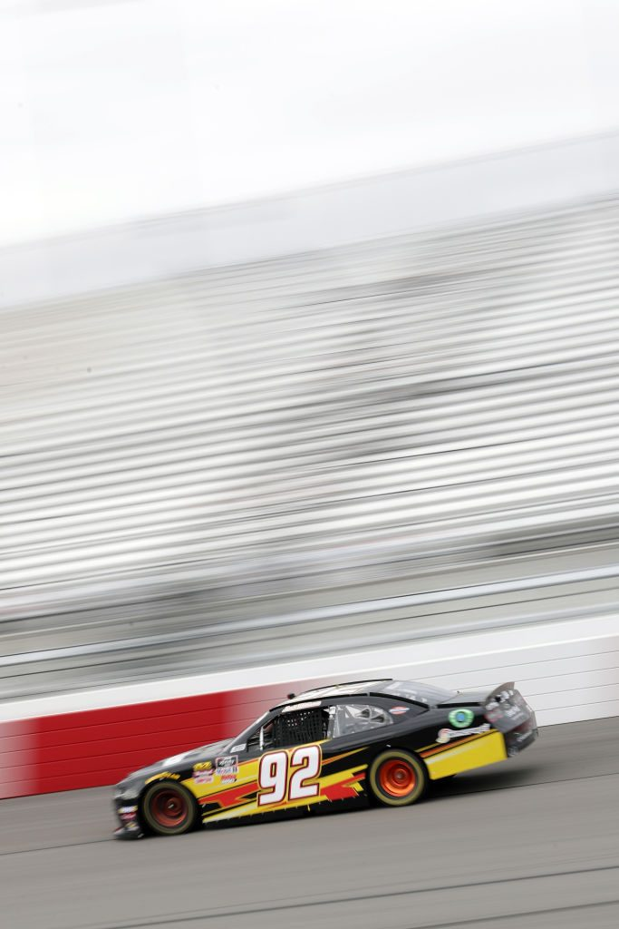 RICHMOND, VA - APRIL 12:  Josh Williams, driver of the #92 Chevrolet, drives during practice for the NASCAR Xfinity Series ToyotaCare 250 at Richmond Raceway on April 12, 2019 in Richmond, Virginia.  (Photo by Donald Page/Getty Images) | Getty Images