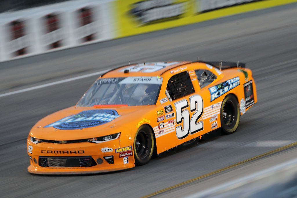 RICHMOND, VA - APRIL 12: David Starr, driver of the #52 Extreme Kleaner Chevrolet races during the NASCAR Xfinity Series ToyotaCare 250 at Richmond Raceway on April 12, 2019 in Richmond, Virginia. (Photo by Donald Page/Getty Images) | Getty Images