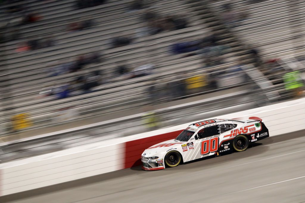 RICHMOND, VA - APRIL 12: Cole Custer, driver of the #00 Haas Automation Ford, races during the NASCAR Xfinity Series ToyotaCare 250 at Richmond Raceway on April 12, 2019 in Richmond, Virginia. (Photo by Donald Page/Getty Images)   Getty Images