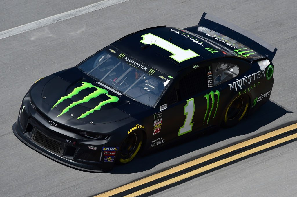 TALLADEGA, AL - APRIL 26: Kurt Busch, driver of the #1 Monster Energy Chevrolet, practices for the Monster Energy NASCAR Cup Series GEICO 500 at Talladega Superspeedway on April 26, 2019 in Talladega, Alabama. (Photo by Jared C. Tilton/Getty Images) | Getty Images