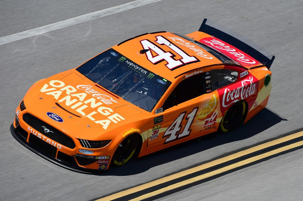 TALLADEGA, AL - APRIL 26: Daniel Suarez, driver of the #41 Coca-Cola Orange Vanilla Ford, practices for the Monster Energy NASCAR Cup Series GEICO 500 at Talladega Superspeedway on April 26, 2019 in Talladega, Alabama. (Photo by Jared C. Tilton/Getty Images) | Getty Images