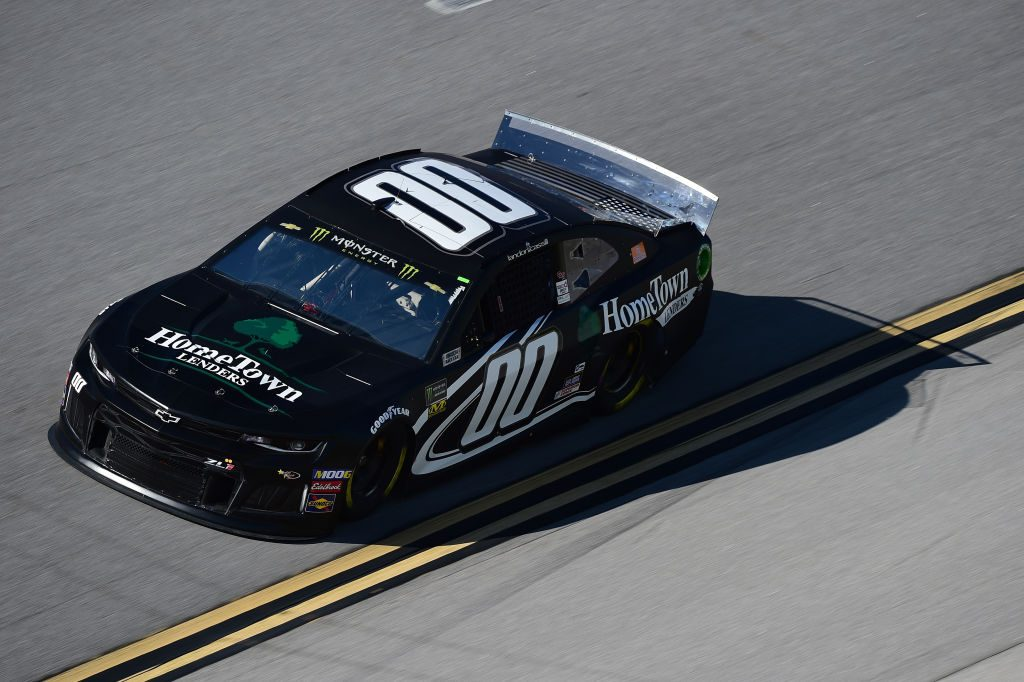 TALLADEGA, AL - APRIL 26: Landon Cassill, driver of the #00 Home Town Lenders Chevrolet, practices for the Monster Energy NASCAR Cup Series GEICO 500 at Talladega Superspeedway on April 26, 2019 in Talladega, Alabama. (Photo by Jared C. Tilton/Getty Images) | Getty Images