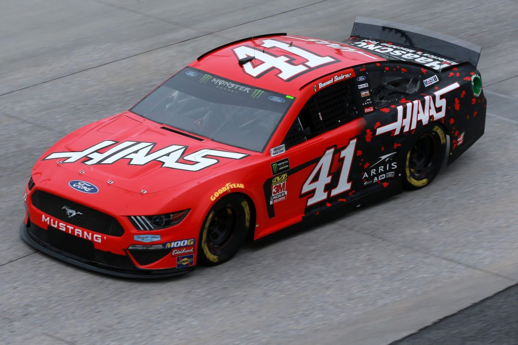 DOVER, DE - MAY 03: Daniel Suarez, driver of the #41 Haas Automation Ford, practices for the Monster Energy NASCAR Cup Series Gander RV 400 at Dover International Speedway on May 3, 2019 in Dover, Delaware. (Photo by Sean Gardner/Getty Images) | Getty Images