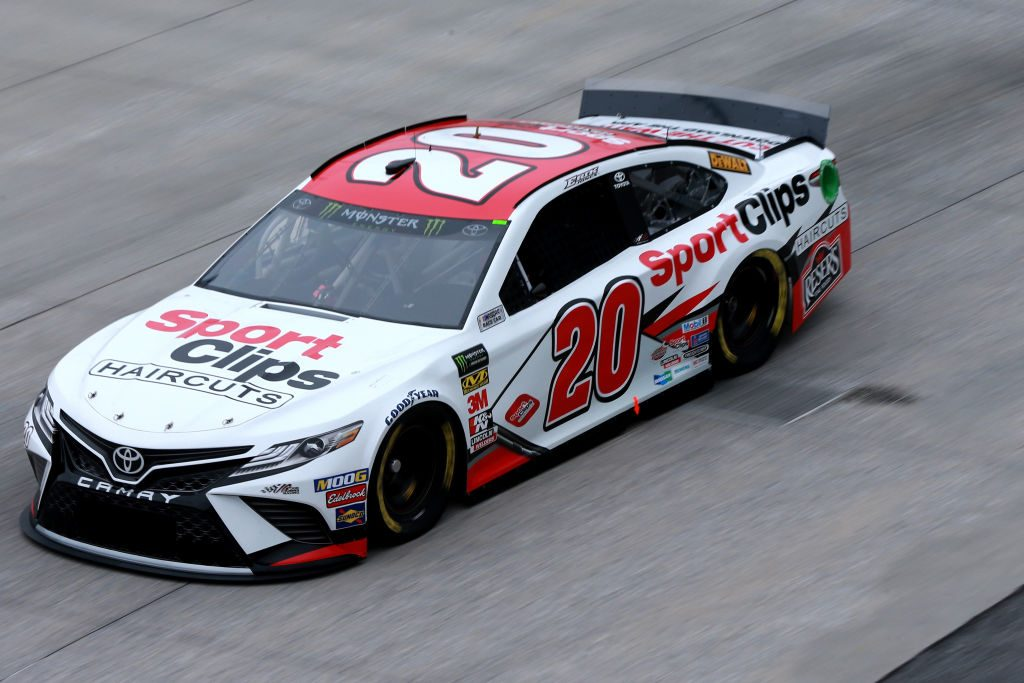 DOVER, DE - MAY 03: Erik Jones, driver of the #20 Sport Clips Toyota, practices for the Monster Energy NASCAR Cup Series Gander RV 400 at Dover International Speedway on May 3, 2019 in Dover, Delaware. (Photo by Sean Gardner/Getty Images) | Getty Images