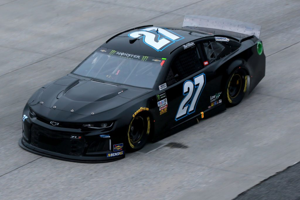 DOVER, DE - MAY 03: Reed Sorenson, driver of the #27 Chevrolet, practices for the Monster Energy NASCAR Cup Series Gander RV 400 at Dover International Speedway on May 3, 2019 in Dover, Delaware. (Photo by Sean Gardner/Getty Images) | Getty Images
