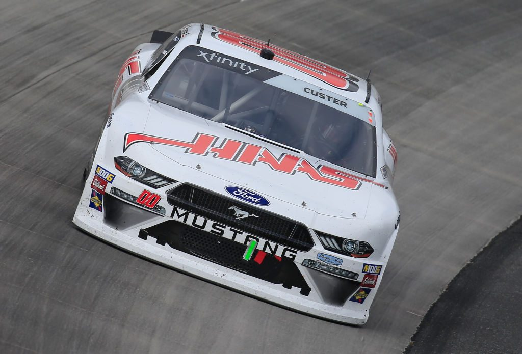 DOVER, DE - MAY 04: Cole Custer, driver of the #00 Haas Automation Ford, races during the NASCAR Xfinity Series Allied Steel Buildings 200 at Dover International Speedway on May 4, 2019 in Dover, Delaware. (Photo by Chris Trotman/Getty Images)   Getty Images