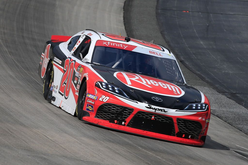 DOVER, DE - MAY 04: Christopher Bell, driver of the #20 Rheem Toyota, drives during the NASCAR Xfinity Series Allied Steel Buildings 200 at Dover International Speedway on May 4, 2019 in Dover, Delaware. (Photo by Chris Trotman/Getty Images) | Getty Images