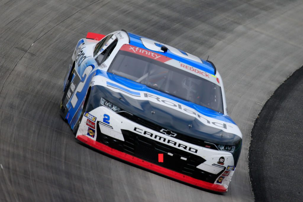 DOVER, DE - MAY 04: Tyler Reddick, driver of the #2 Roland Chevrolet, drives during the NASCAR Xfinity Series Allied Steel Buildings 200 at Dover International Speedway on May 4, 2019 in Dover, Delaware. (Photo by Chris Trotman/Getty Images) | Getty Images