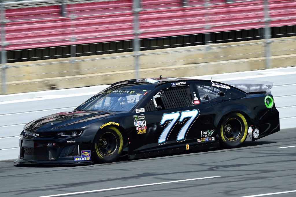 CHARLOTTE, NC - MAY 17: Quin Houff, driver of the #77 Spire Motorsports Chevrolet, practices for the Monster Energy NASCAR Cup Series All-Star Race and the Monster Energy NASCAR Cup Series Open Race at Charlotte Motor Speedway on May 17, 2019 in Charlotte, North Carolina. (Photo by Jared C. Tilton/Getty Images) | Getty Images