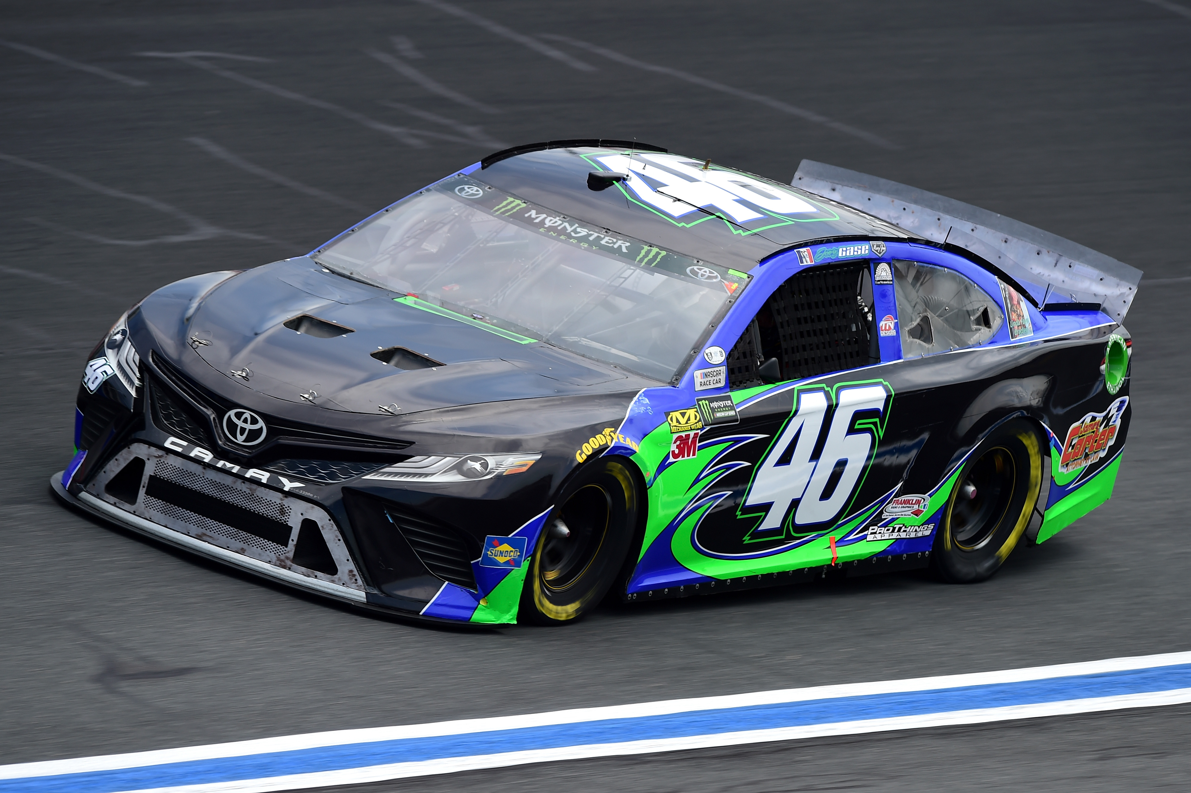 2019 #46 Motorsports Business Management paint schemes - Jayski's