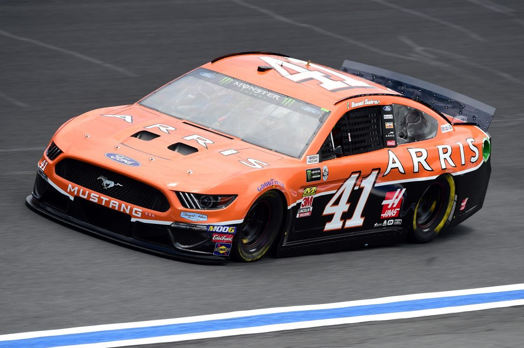 CHARLOTTE, NC - MAY 17: Daniel Suarez, driver of the #41 ARRIS Ford, practices for the Monster Energy NASCAR Cup Series All-Star Race and the Monster Energy NASCAR Cup Series Open Race at Charlotte Motor Speedway on May 17, 2019 in Charlotte, North Carolina. (Photo by Jared C. Tilton/Getty Images) | Getty Images
