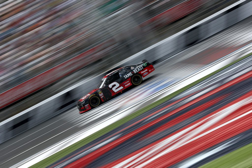 CHARLOTTE, NORTH CAROLINA - MAY 25: Tyler Reddick, driver of the #2 TAME the BEAST Chevrolet, races during the NASCAR Xfinity Series Alsco 300 at Charlotte Motor Speedway on May 25, 2019 in Charlotte, North Carolina. (Photo by Streeter Lecka/Getty Images) | Getty Images